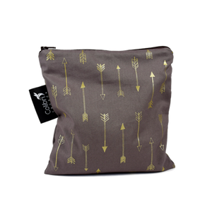 Chocolate Arrows (retired) Large Reusable Snack Bag by Colibri