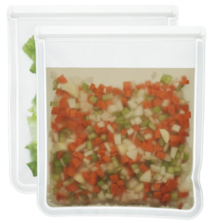 1 Gallon (re)zip Leak-Proof Food Storage Bag - single