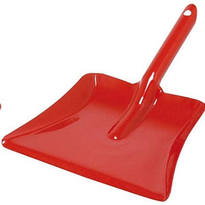 Metal Dust Pan - Red