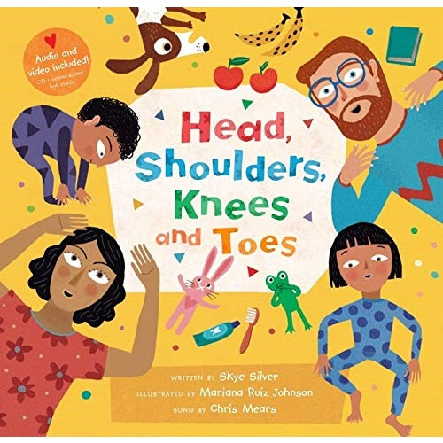 Head, Shoulders, Knees and Toes (CD and online access link included)