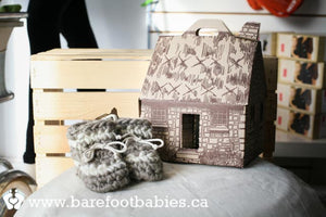 Padraig Cottage Slipper gift box
