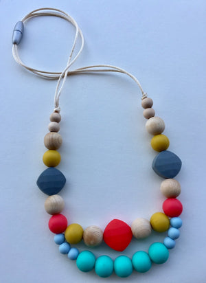 Boho, Baby - How I Adorn Thee Teething Necklace (Mama Collection)
