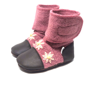 Nooks Design - Felted Wool Booties (newborn - 4 years)