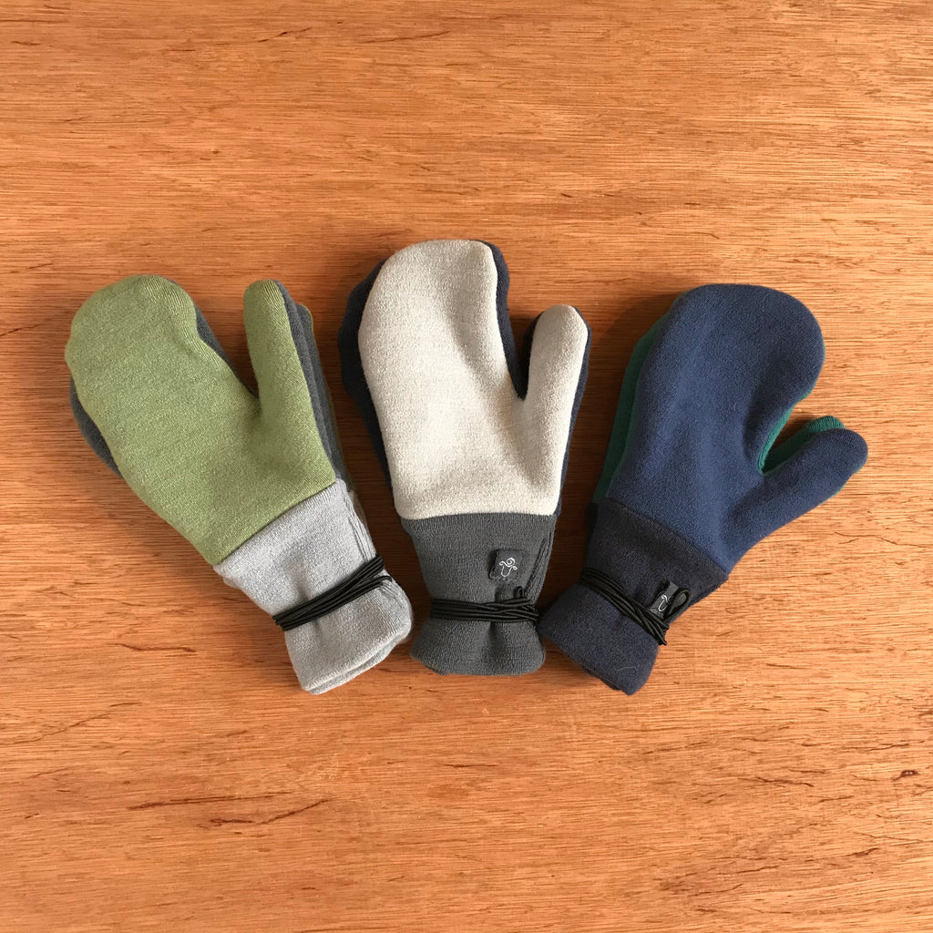 Bumby Wool Mittens (3-6 years)