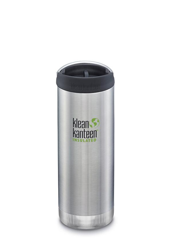 Klean Kanteen 16oz Wide Insulated Cafe (handle on lid)
