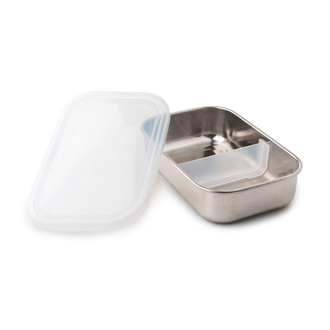 U Konserve Divided Rectangle Container - Clear