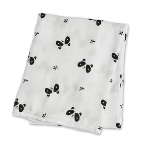 Panda Lulujo Swaddle - Bamboo Modern Collection