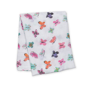 Lulujo Muslin Swaddle Blanket (Cotton)