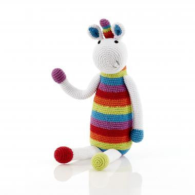 Pebble - Unicorn - Rainbow Rattle