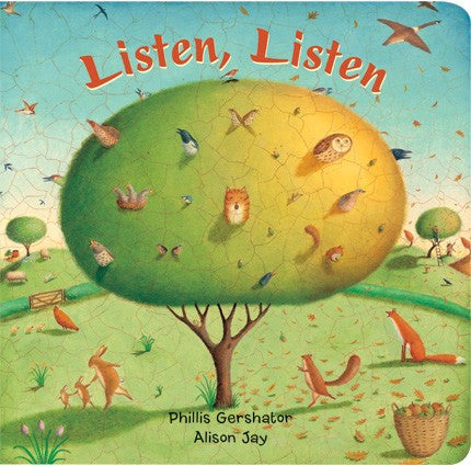 Listen Listen (Large Board Book)