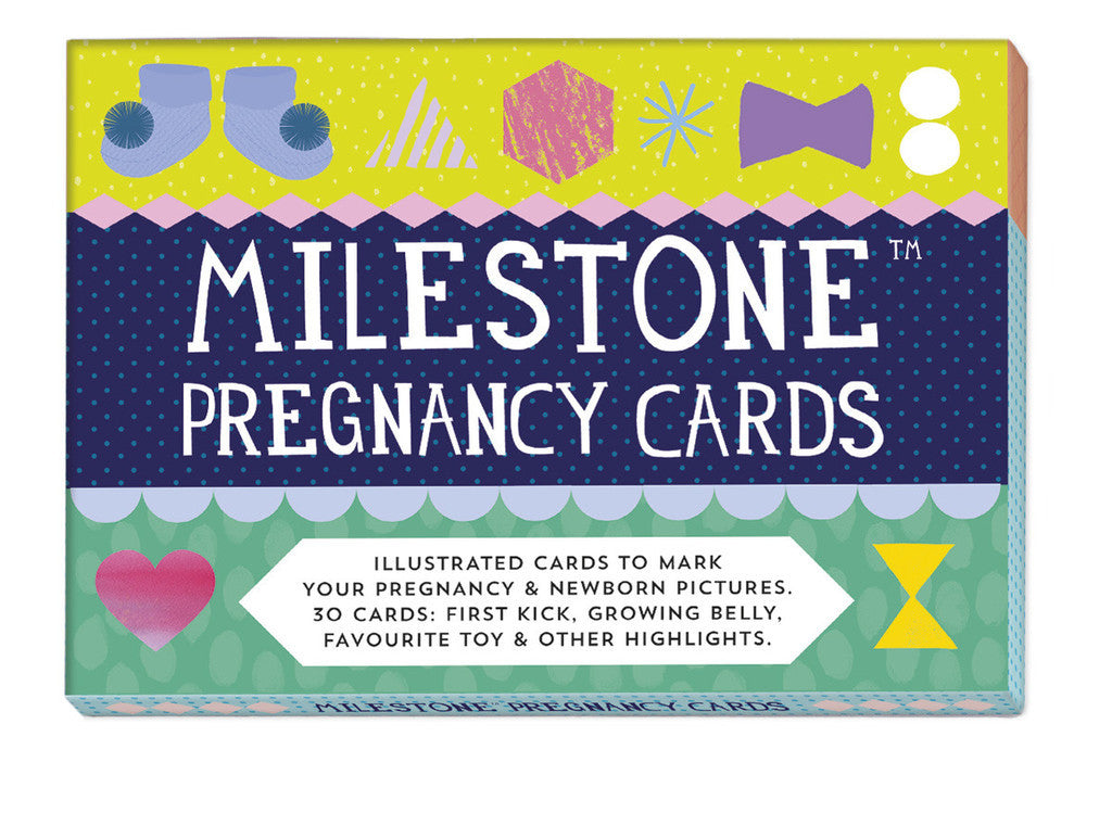 Milestone Cards - Pregnancy and Newborn Cards