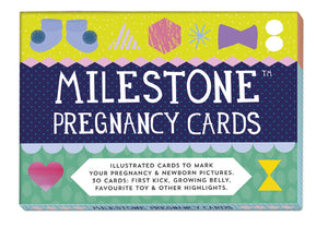 Milestone Cards - Pregnancy and Newborn Cards  * CLEARANCE - FINAL SALE *