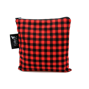 Plaid Large Reusable Snack Bag by Colibri
