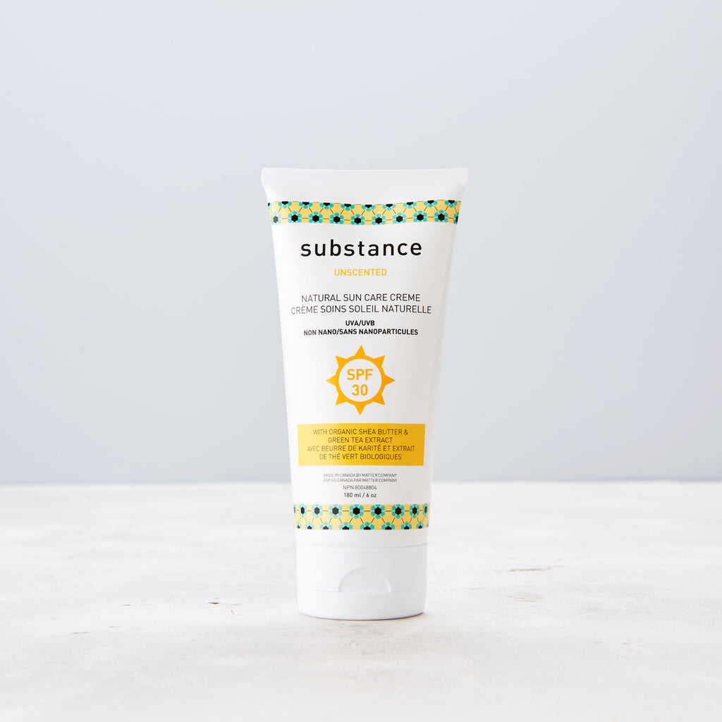 Substance Unscented Natural Sun Care Cream  - 180 ml