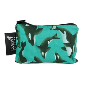 Orca Small Reusable Snack Bag by Colibri