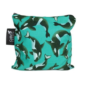 Orca Large Reusable Snack Bag by Colibri