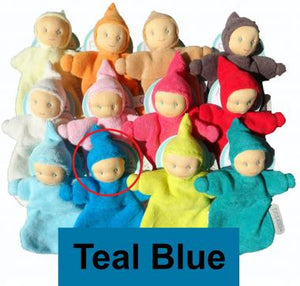 Organic Terry Peppa Baby Belle - Bonding Doll