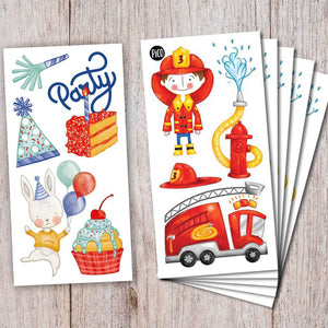 PiCO Temporary Tattoos - Birthday Party Kit