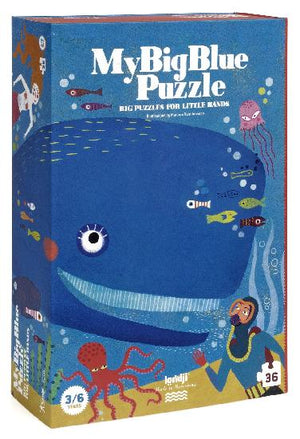 My Big Blue - 36 piece puzzle by Londji