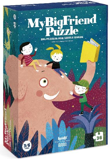 My Big Friend - 36 piece puzzle by Londji