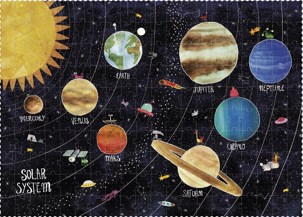 Discover the Planets - 200 piece puzzle by Londji