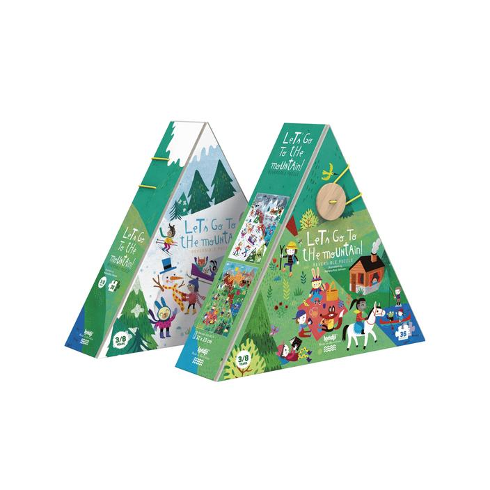 Let's go to the Mountains - reversible puzzle