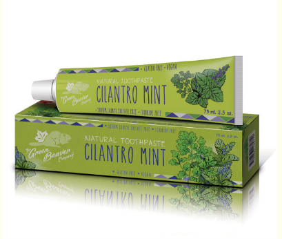 Green Beaver Toothpaste - Cilantro Mint - 75ml