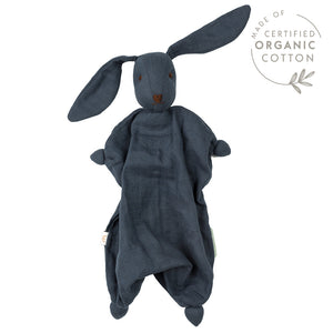 Hoppa Tino - Organic Muslin Bonding Doll - Navy