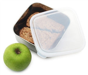 Kids Konserve Clear Square Container - 32 oz