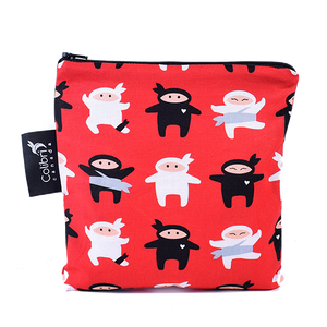 Ninja Large Reusable Snack Bag by Colibri