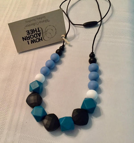 How I Adorn Thee :: Teething Jewellery :: Azure Sky