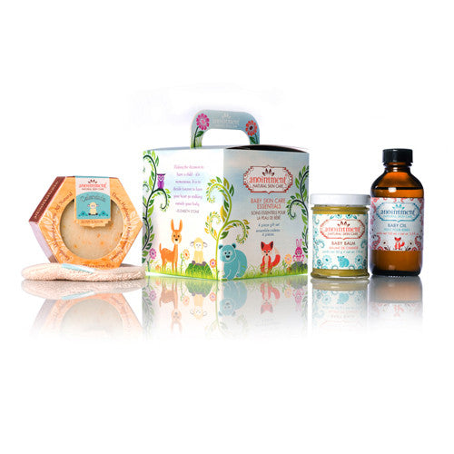 Anointment Baby Skin Care Essentials Gift Set