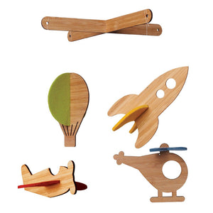 Deluxe Bamboo Mobile by Petit Collage * CLEARANCE - FINAL SALE *