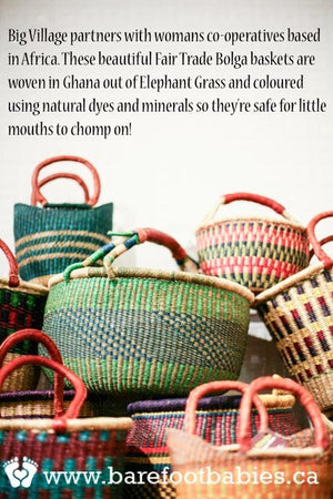 Big Village Fair Trade Bolga Baskets