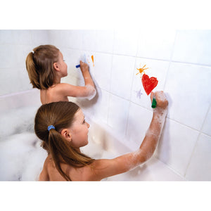 Janod Colouring in the Bath Set