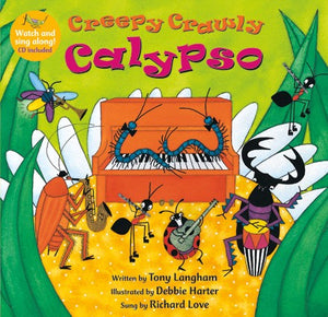 Creepy Crawly Calypso - CD included