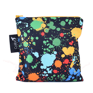 Splatter Large Reusable Snack Bag by Colibri
