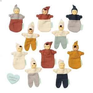Hoppa Betty and Nico - Organic Muslin Bonding Dolls