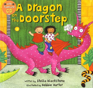 A Dragon on the Doorstep - Paperback w/CD