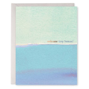 Tiny Human - E. Frances Paper greeting card
