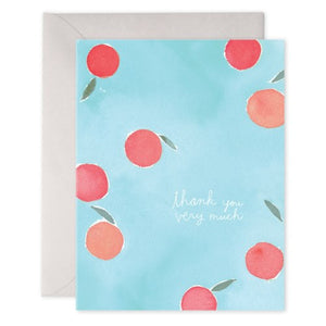 Thank You Fruit - E. Frances Paper greeting card