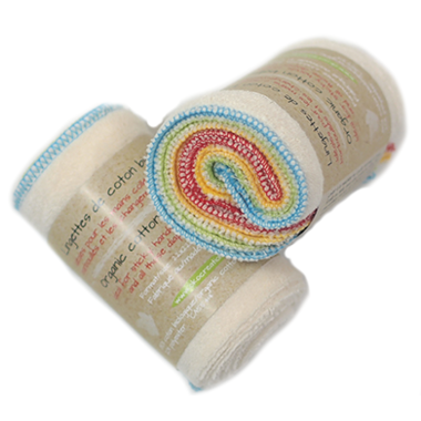 Oko Creations - Organic Cotton Baby Wipes (4 Pack)