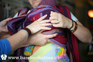 Personal Baby Carrier Lesson (included with the purchase of a carrier at Barefoot Babies)