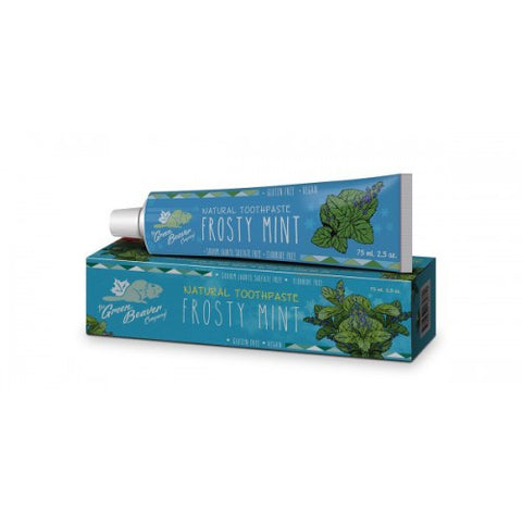 Green Beaver Toothpaste - Frosty Mint - 75ml