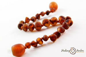 Raw Caramel necklace (15 inches)