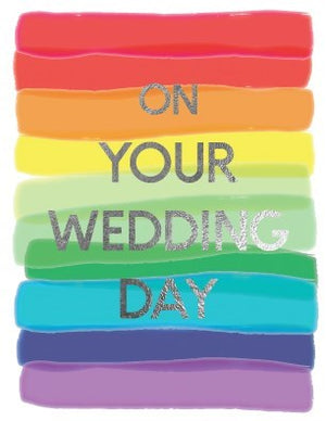 Rainbow Wedding - Halfpenny cards