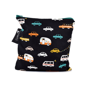 Road Trip Large Reusable Snack Bag by Colibri