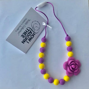 Petal Parade Kiddo Collection Teething Jewellery by How I Adorn Thee