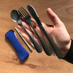 Cutlery in Neoprene bag