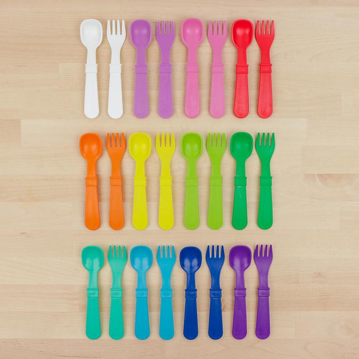 Re-Play Toddler Utensil Set (Fork and Spoon)